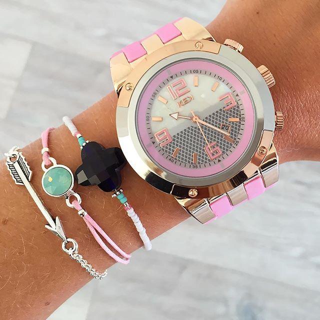 ★ 50% korting op de laatste KEK-horloges ★  Fijne zondag ♡ | www.mint15.nl  #horloge #horloges #KEK #KEKhorloge #watch #sale #korting #zondag #sunday #deal #sundaydeal #weekend #weekenddeal #lastitems #last #items #armcandy #bracelets #colors #pink #brown #sieraden #jewelry