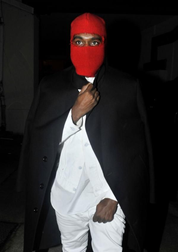 Why Does Kanye Have On A Ski Mask Wearing Red Ski Mask Kanye