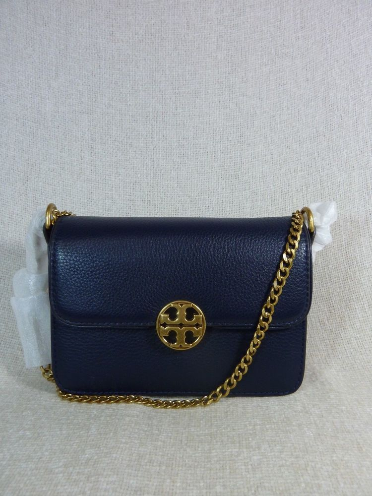 4c739a50102 NWT Tory Burch Royal Navy Chelsea Mini Cross Body Bag - $328 #ToryBurch  #Crossbody