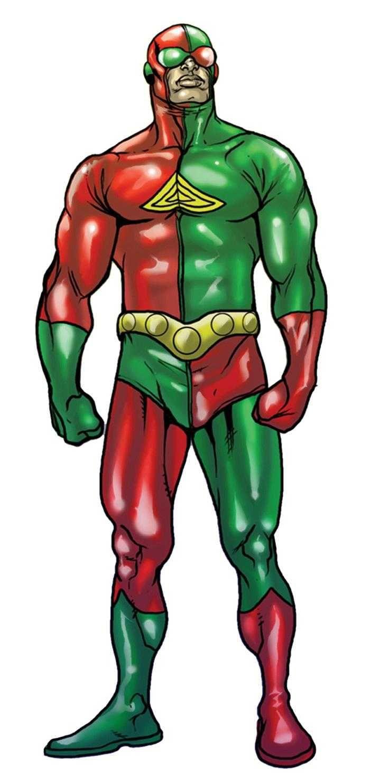 """3-D Man Personaje de Marvel Comics Primera apariciónMarvel Premiere #35 (Abril de 1977) Creador(es)Roy Thomas Jim Craig Información Nombre originalCharles """"Chuck"""" Chandler y Harold """"Hal"""" Chandler (hermanos) Especialidad Habilidad para sentir Skrulls Fuerza Aumentada Velocidad Aumentada Durabilidad Aumentada"""