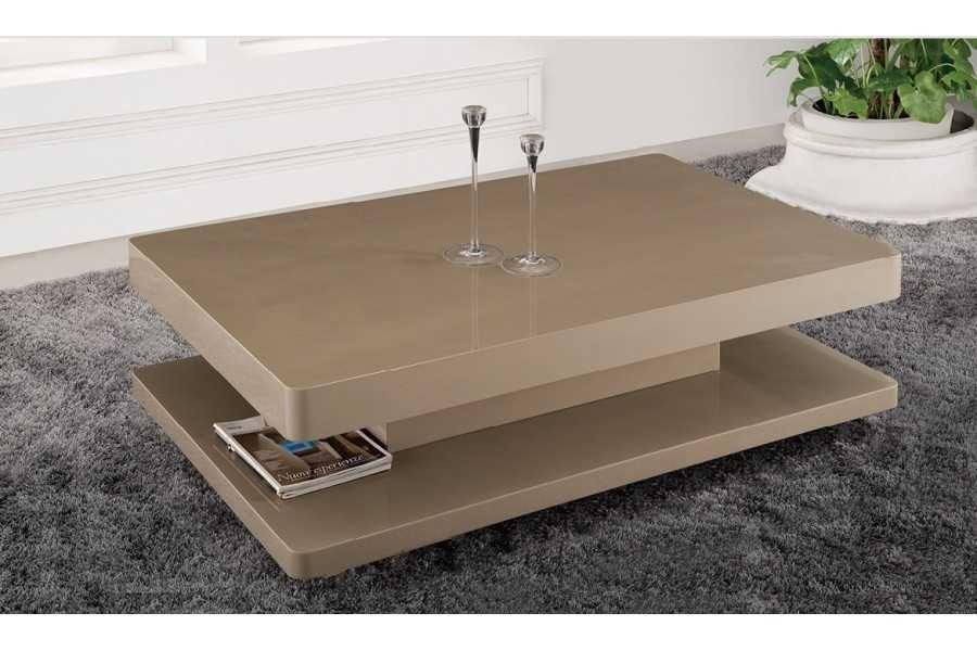 table basse salon moderne