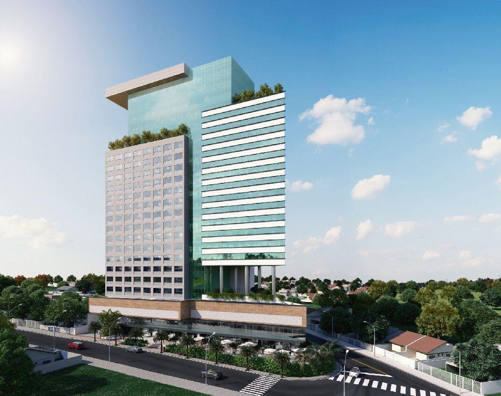 Edif cio comercial arquitetura fachadas pinterest for Fachadas contemporaneas de edificios