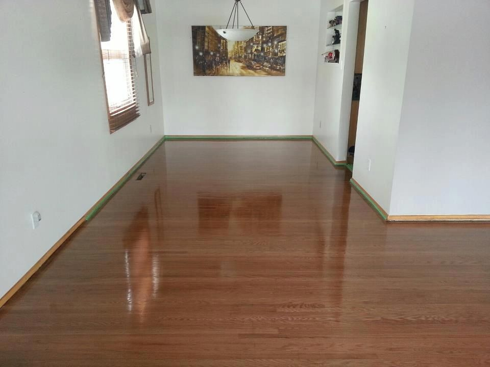 refinish your hardwood floors without sanding  or harsh