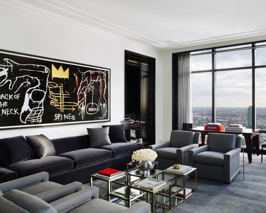 Masculine Living Room Design, Pictures, Remodel, Decor and Ideas - page 4