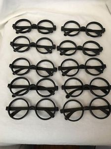 42294a4679 10 Costume Harry Potter Glasses Nerd Bookworm Round Eye Dress Up Halloween