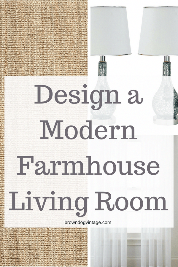 Design Your Own Room: Design Your Own Modern Farmhouse Living Room