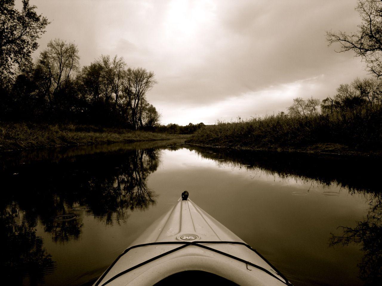 Get a kayak and go somewhere :)