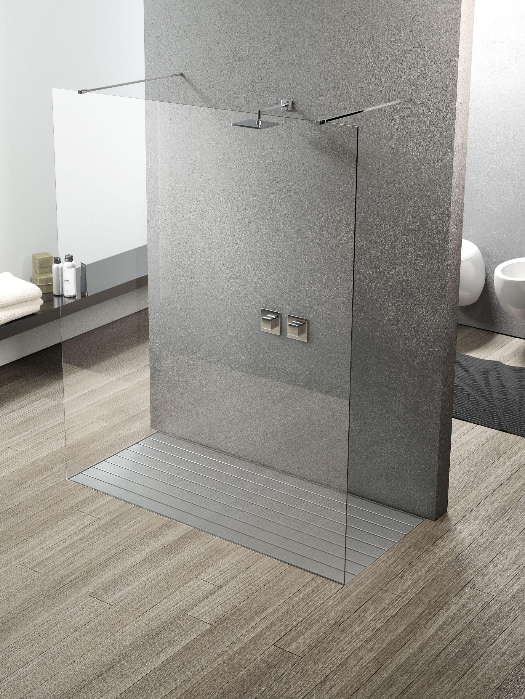 Piatti doccia rivestibili di alta qualit in acciaio inox integrato senza silicone moderno - Idee box doccia ...