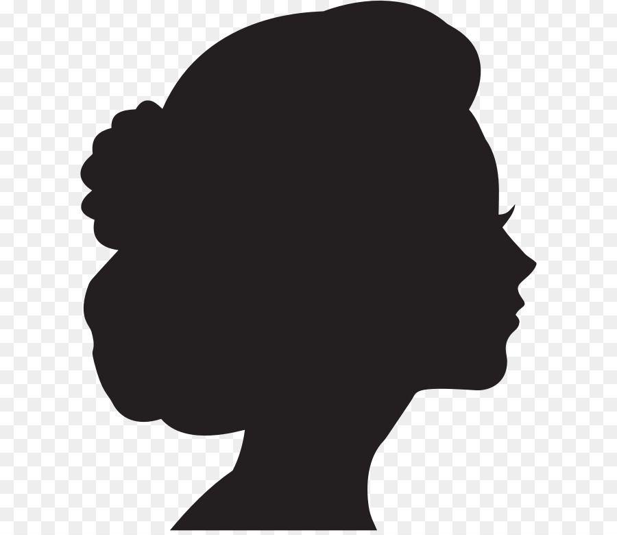 Woman Silhouette Female Clip Art Side Profile Silhouette Drawing Silhouette Art Woman Face Silhouette