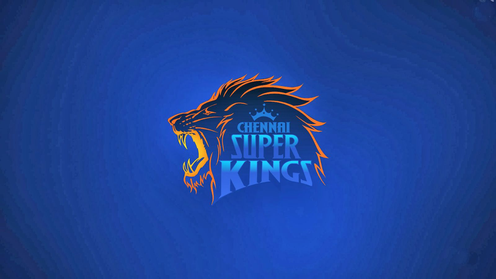 Chennai Super Kings HD Logo Wallpaper