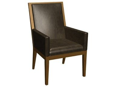 Customize Leather And Wood   For End Chairs?? Bermex Arm Chair C 1392UA