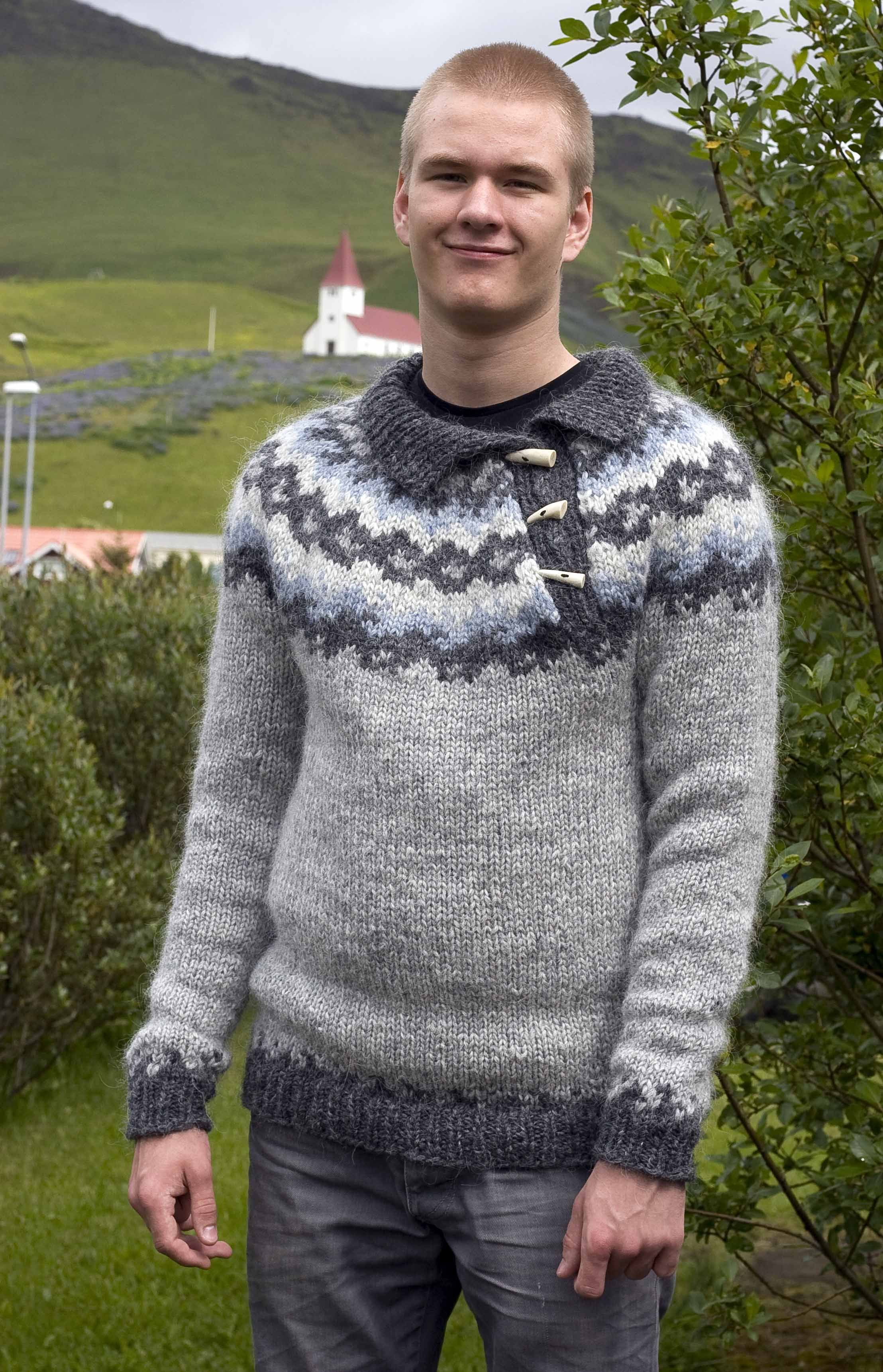 Icelandic Sweater Knitting Pattern : oroi, Icelandic lopi pattern Knitting Pinterest The ...