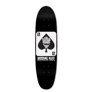 Cruiser Decks Archives The Brooding Muse Skateboard Deck Skateboard Skateboardinn Skate Skateboardsa Skateboard Deck Art Skateboards For Sale Skateboard