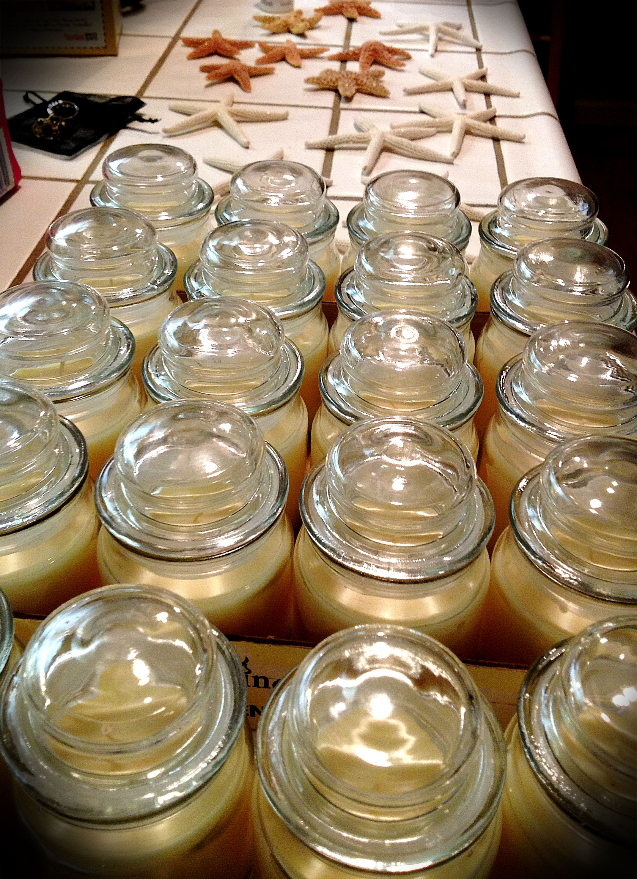 Dollar Store Vanilla Candles For Wedding Favors