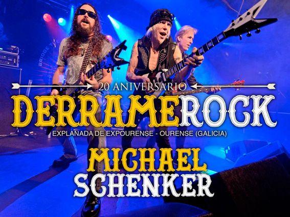 MICHAEL SCHENKER estrella internacional del Derrame Rock