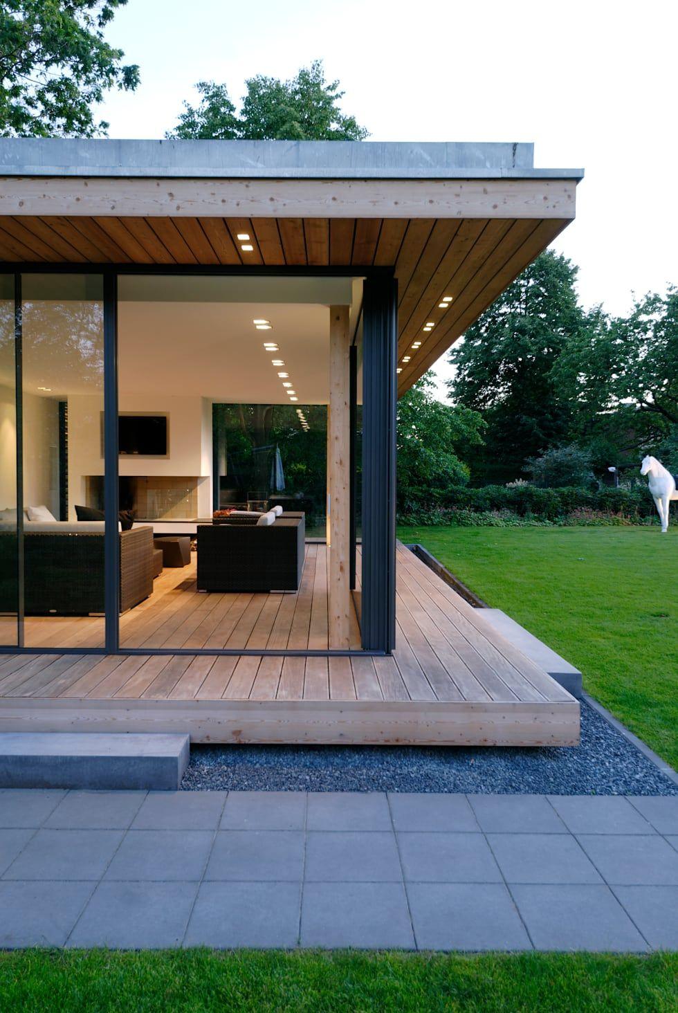 Moderner gartenpavillion im nördlichen ruhrgebiet: garten von stockhausen fotodesign,modern #modernegärten