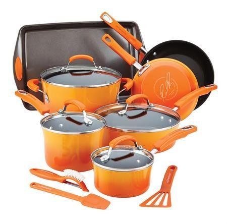 Pin By T C On House Decor Rachael Ray Cookware Set Enamel