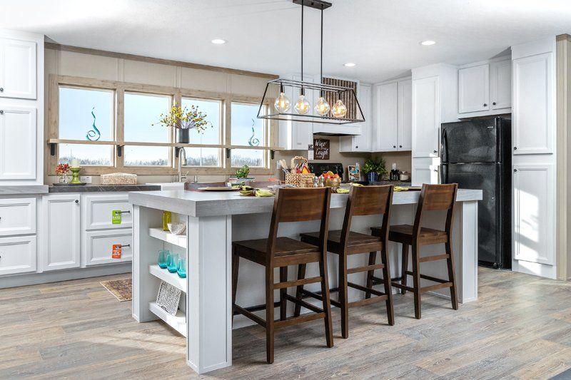 Clayton flex farmhouse mobile home doublewide