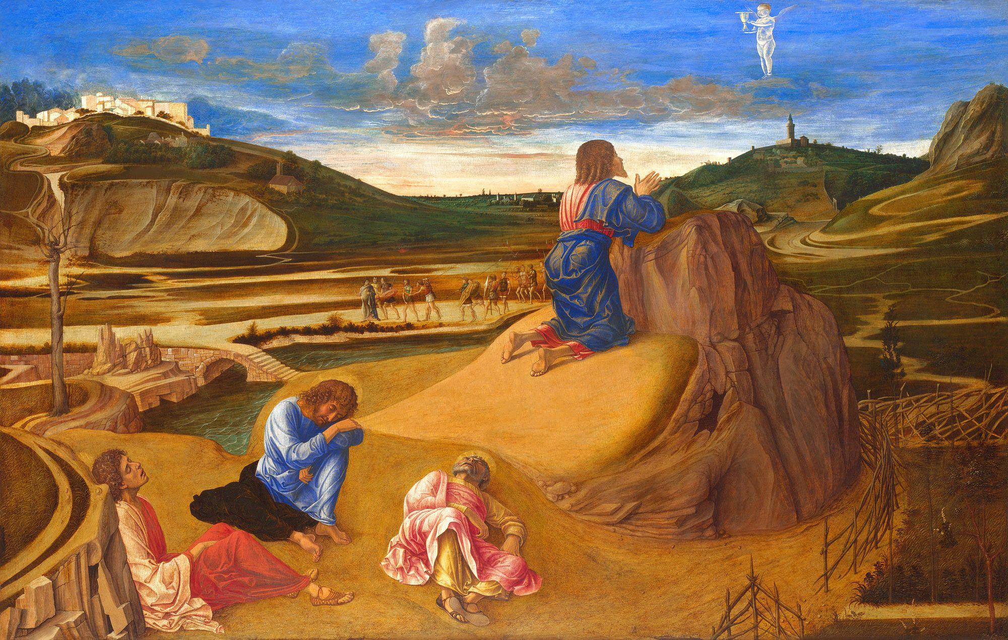 Giovanni Bellini Agony in the Garden