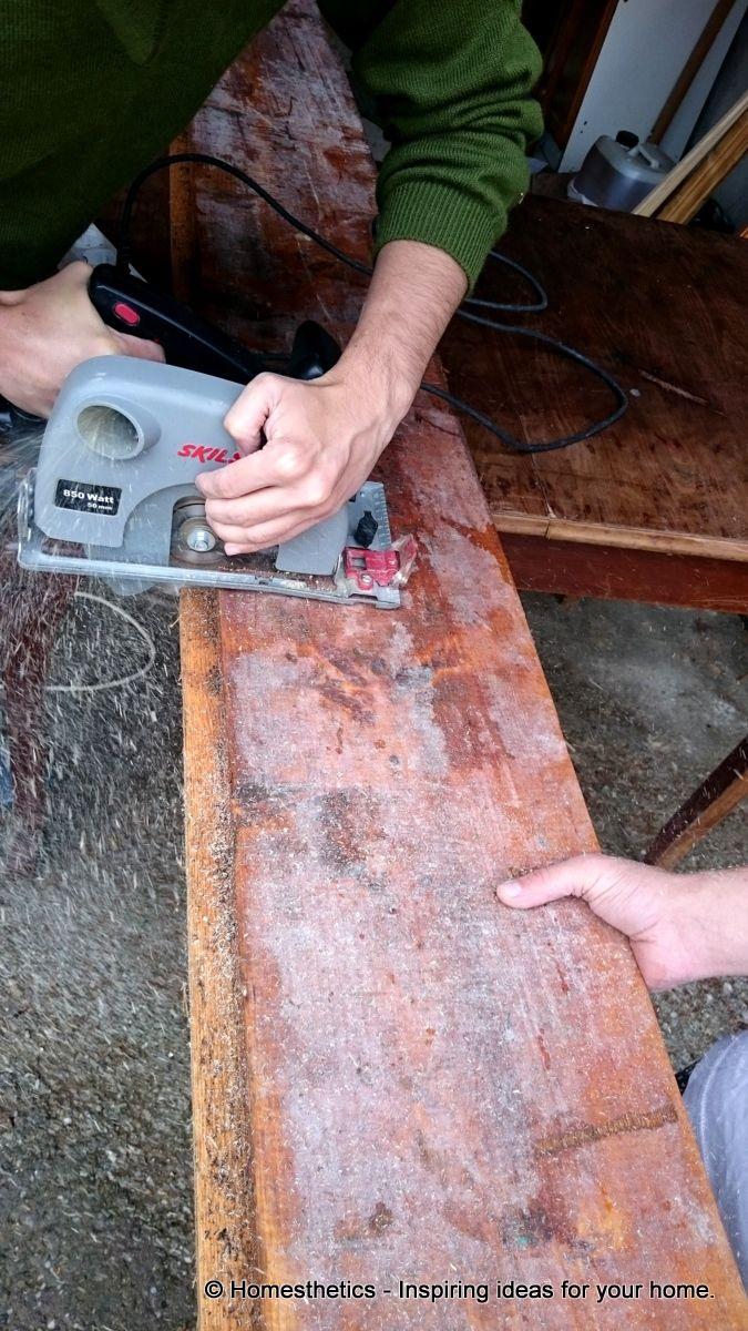 DIY Project Series - DIY Reclaimed Wood Bath Caddy