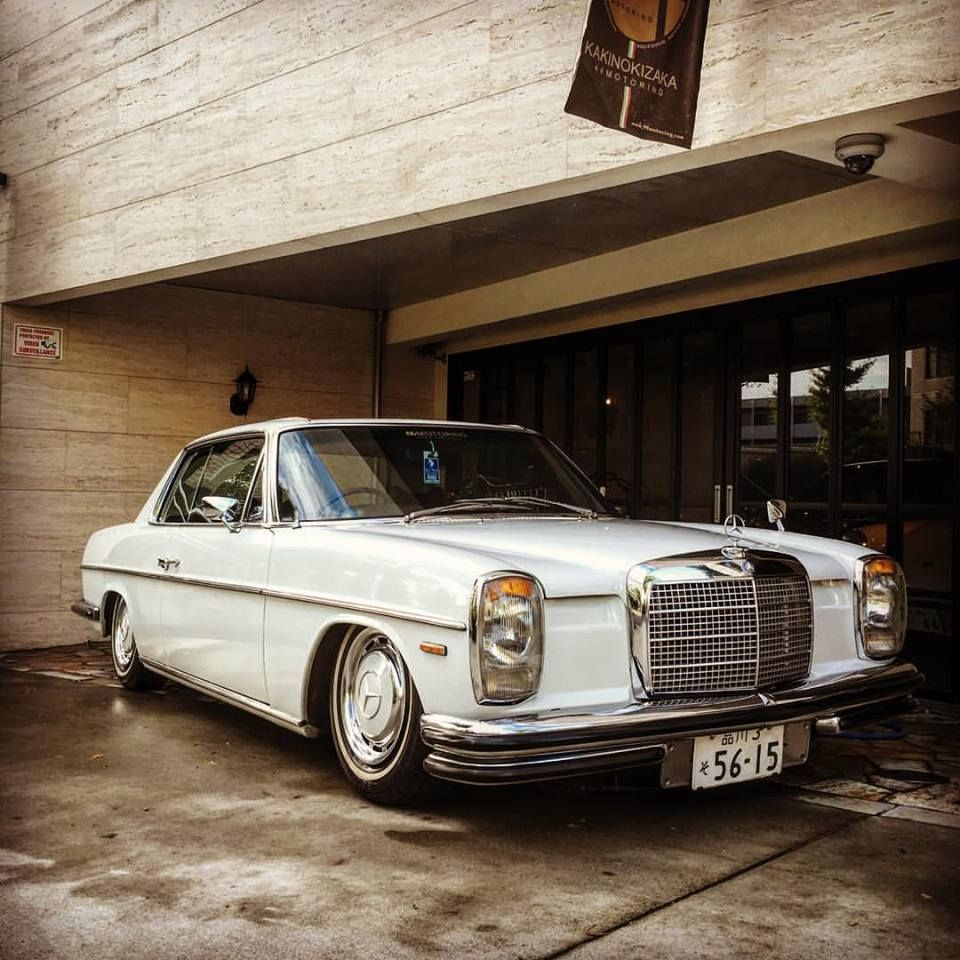Mercedes benz w114 250c coupe in japan beautiful car for Mercedes benz custom cars