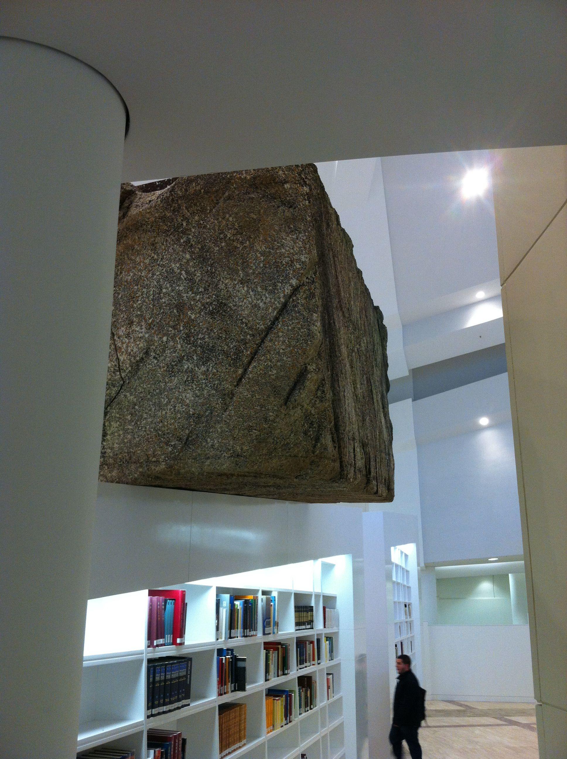 Library... Cidade da Cultura Galicia