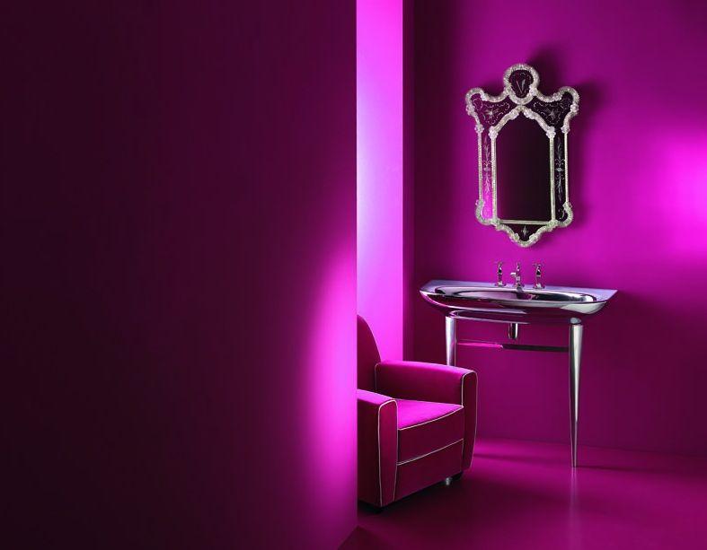 Fabulous Magenta Bathroom Magenta Orchid Decor In 2019 Bathroom Complete Home Design Collection Barbaintelli Responsecom
