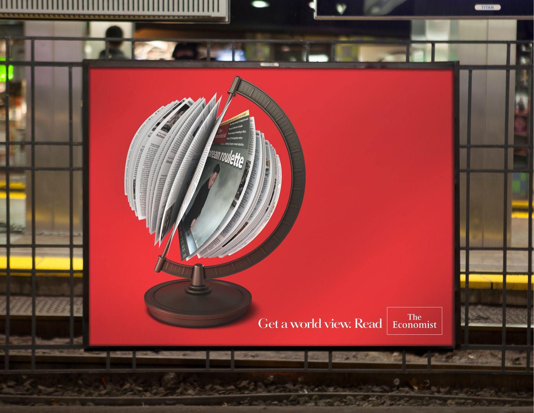 Get a world view. Read. Advertising Agency: BBDO, New York, USA ...