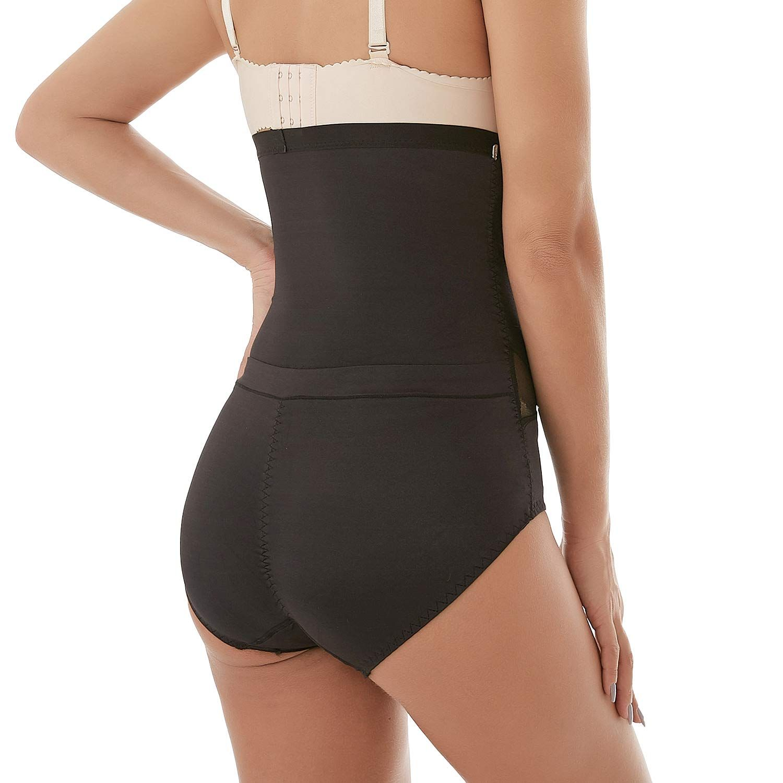 b911cc9d938 Defitshape Womens High Waist Shapewear Panties Seamless Tummy Control Butt  Lifter Shaper Black US XS TagM   Click image for more details.