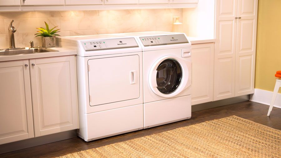 New Speed Queen Front Load Washer and Dryer | Appliance Tips