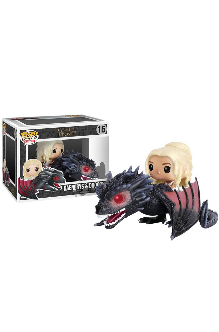 POP Rides - GOT - Drogon & Daenerys Vinyl Figure #funkogameofthrones
