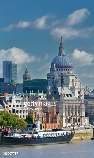 Stock Photo : St Pauls Cathedral, London, UK