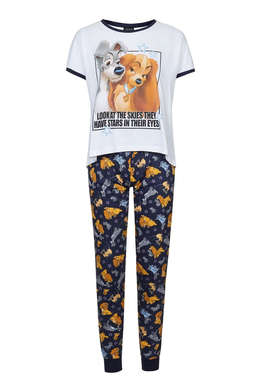 fe41594f3b8e Topshop Lady and the Tramp Pyjama Set | Lady and the Tramp in 2019 ...