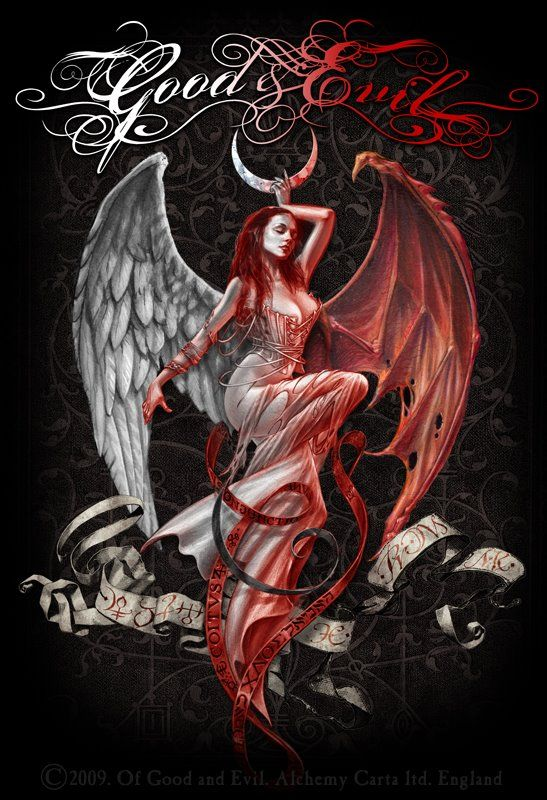 Good And Evil Angel