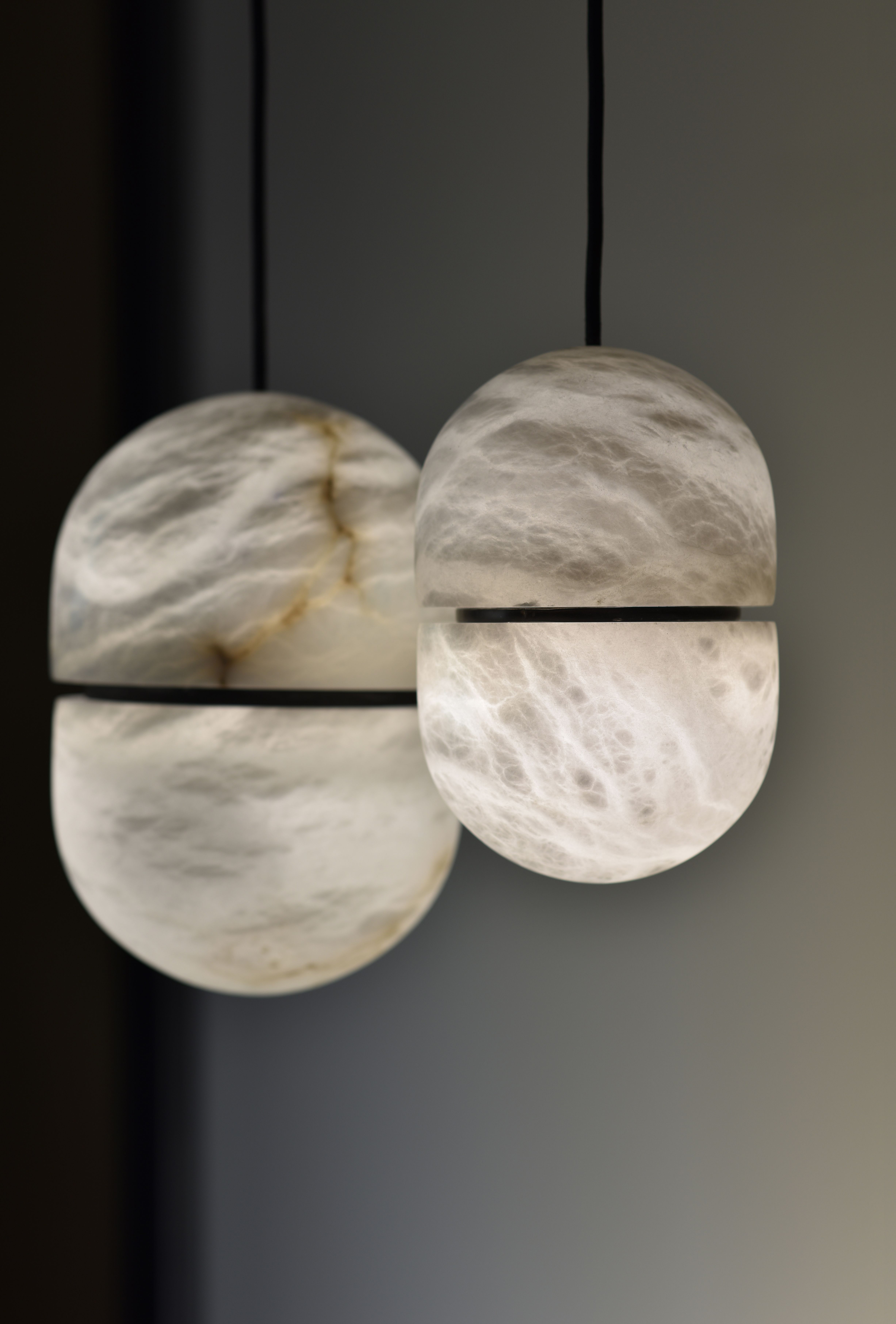 Discover chandelier yum a lighting fixture from our new 2017 collection made up of stunning alabaster capsules aae chandelier alabaster