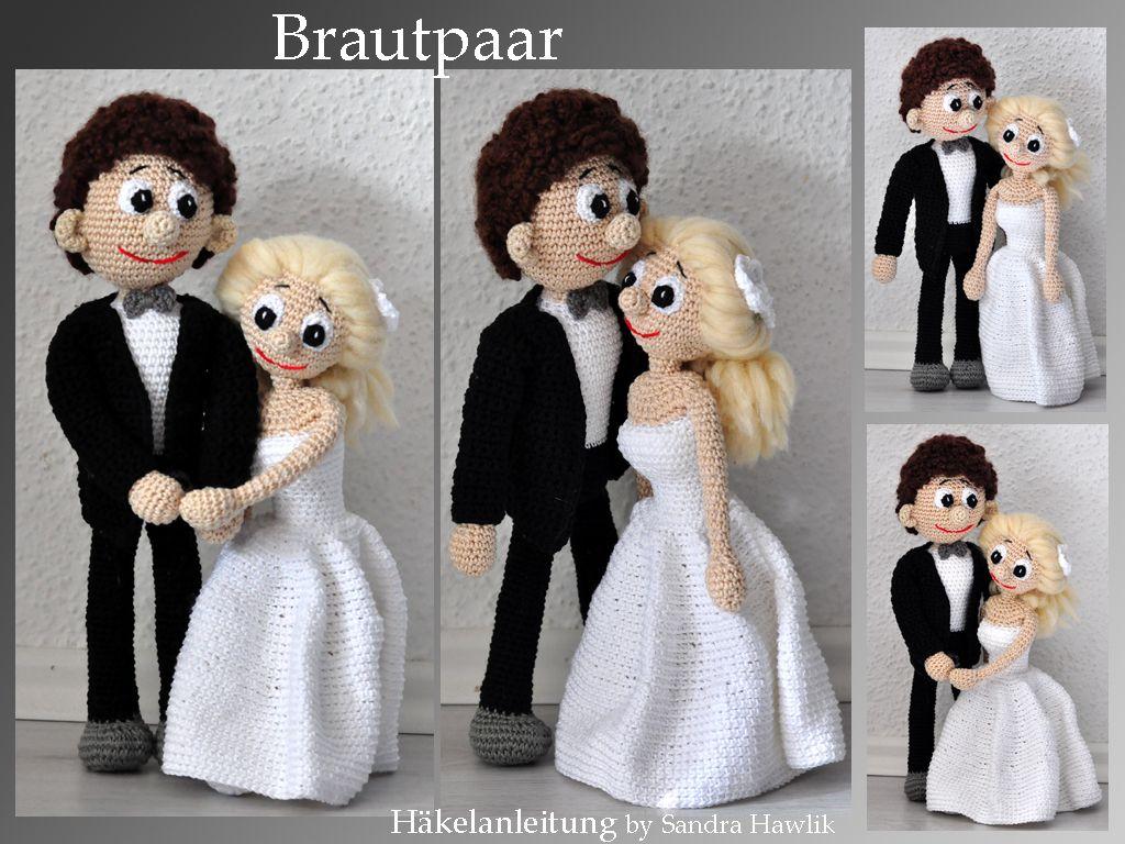 Häkelanleitung Diy Brautpaar Ebook Pdf Crochet Patterns 2