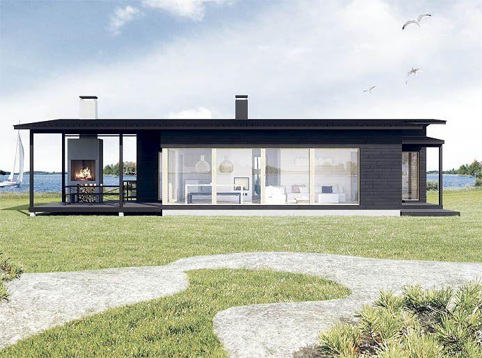 Sunhouse S 270 House Exterior Architecture Cottage Plan