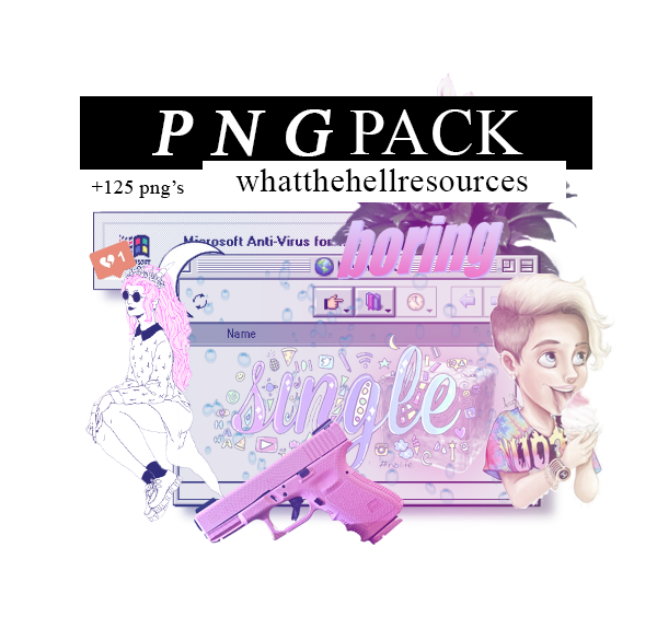 Png Pack By Whatthehellresources Png Vaporwave Doodle Png