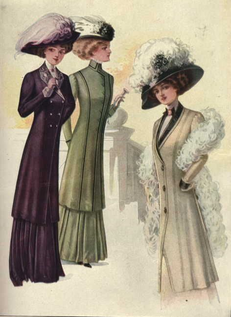1900s Clothing for Women | Fashions from McCall\'s , April 1908 ...