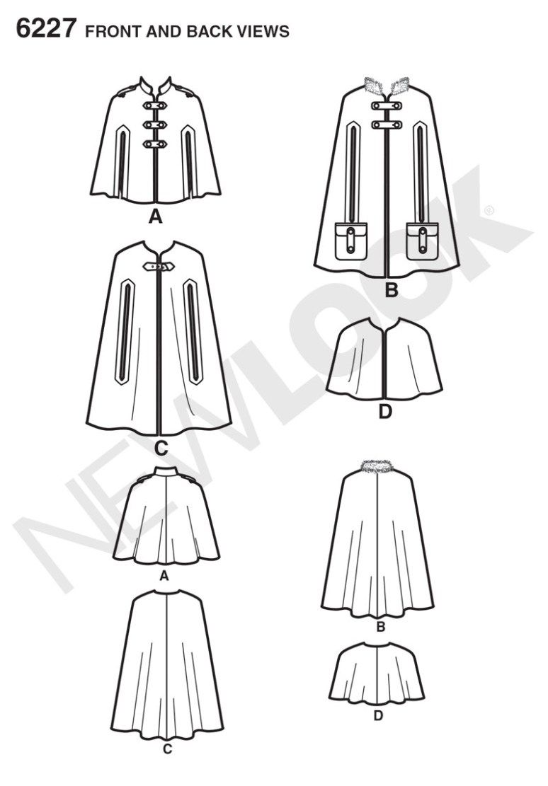 21+ Inspired Photo of Cape Sewing Pattern