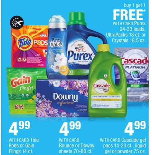 Get Purex Crystals Fragrance Boosters For Only 2 39 After Printable Coupon And Cvs Bogo Sale Purex Crystals Purex Bogo Sale