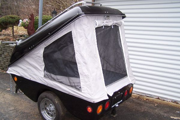 Motorcycle Camping Trailers And The Selfcontained Tent Trailer