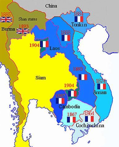 Image result for siam map photos 1900