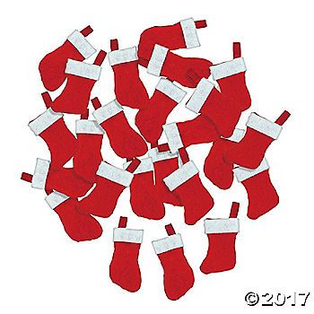 Mini Christmas Stockings Mini Christmas Stockings Mini
