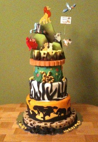 THE LION KING CAKE TOPPER Lion Guard Pinterest Broadway - Lion King Wedding Cake