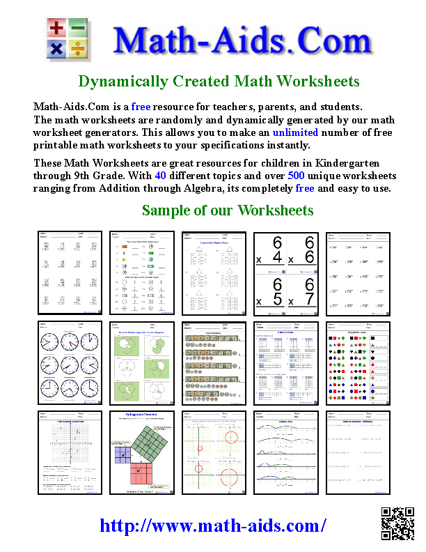 Your Search Is Over This Site Has The Best Math Worksheets