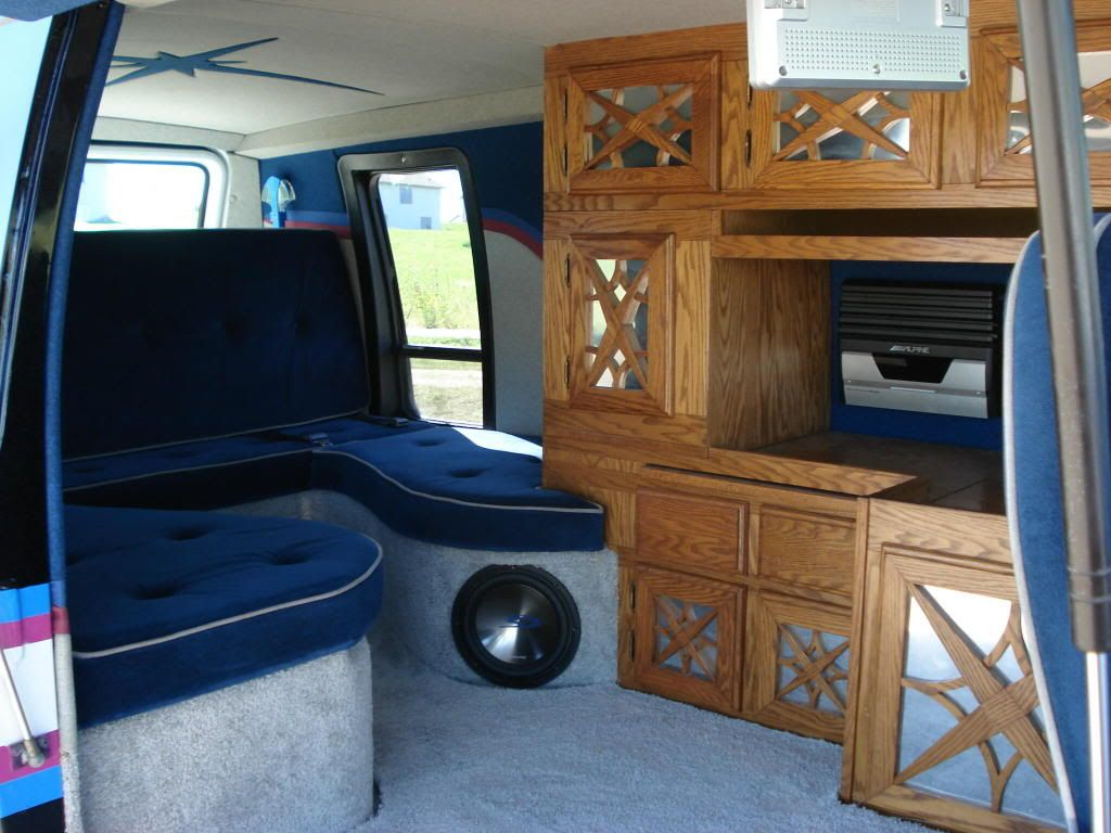 Custom van interiors custom van interiors for Commercial van interior accessories