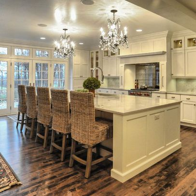 Chandeliers Over Island Design Ideas Pictures Remodel And Decor