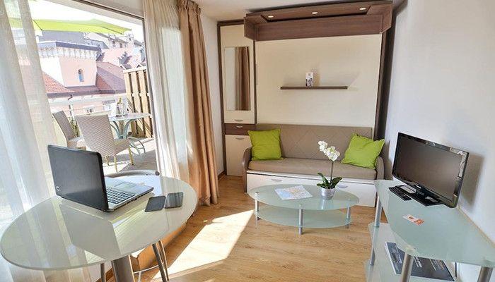 Luminosite Et Terrasse A L Appart Hotel Privilodges Le Royal Location Appartement Haute Savoie
