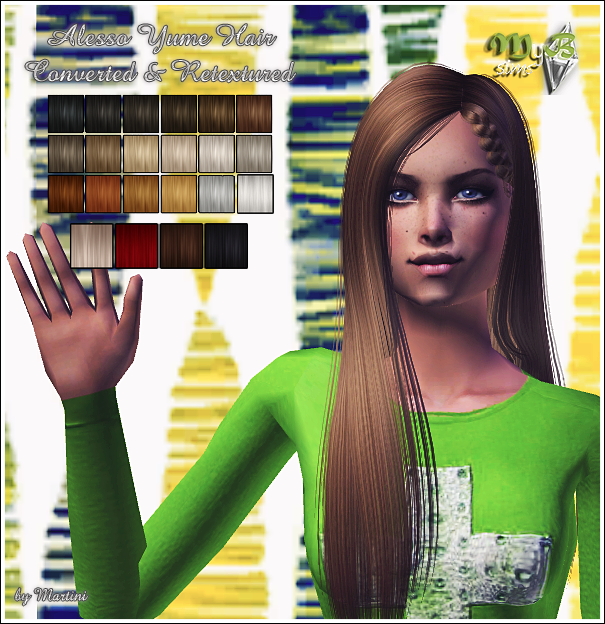 *Blog Gift nº3* Alesso Yume Converted & Retextured by Martini